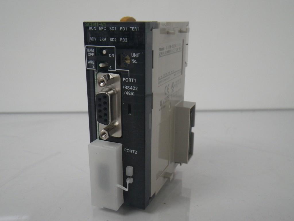 Коммуникационный модуль последовательной связи для CJ1, 1 порт RS-232C + 1 порт RS-422/485: Protocol Macro, Host Link, 1:N NT Link, Serial Gateway 258831 Omron