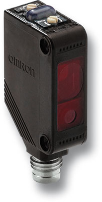 E3Z-LL61 2M OMS Датчик фотоэлектрический, BGS Laser Sensor, 20-300mm, с кабелем, NPN Output, 2m кабель 323137 Omron
