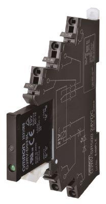 G3RV-202S DC24 Твердотельное реле серии G3RV, для коммутации цепей переменного тока 2 A, входное, контроль перехода фазы через ноль, управление 24 V DC, коммутация 100-240 V AC, 2 A 323541 Omron