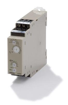 H3DK-S1 AC/DC24-240 Полупроводниковый таймер серии H3DK, 4 режимный, одинарный переключающий контакт SPDT, напряжение питания 24..240 V AC/DC 352010 Omron