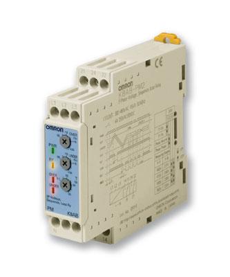 K8AB-PM2 / Трехфазное реле контроля напряжения и фаз (чередование/обрыв), входное напряжение 220-480 181897 Omron