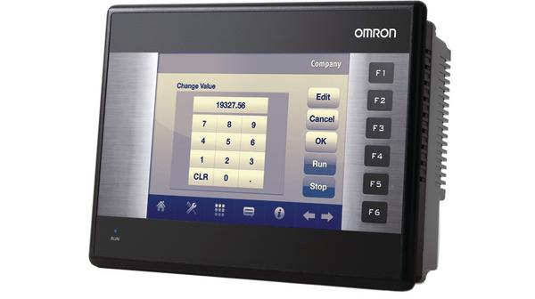 """NQ5-MQ000-B / Панель оператора серии NQ, экран 5.7"""", STN, монохром, 16 оттенков голубого, 320x240, г 285605 Omron"""
