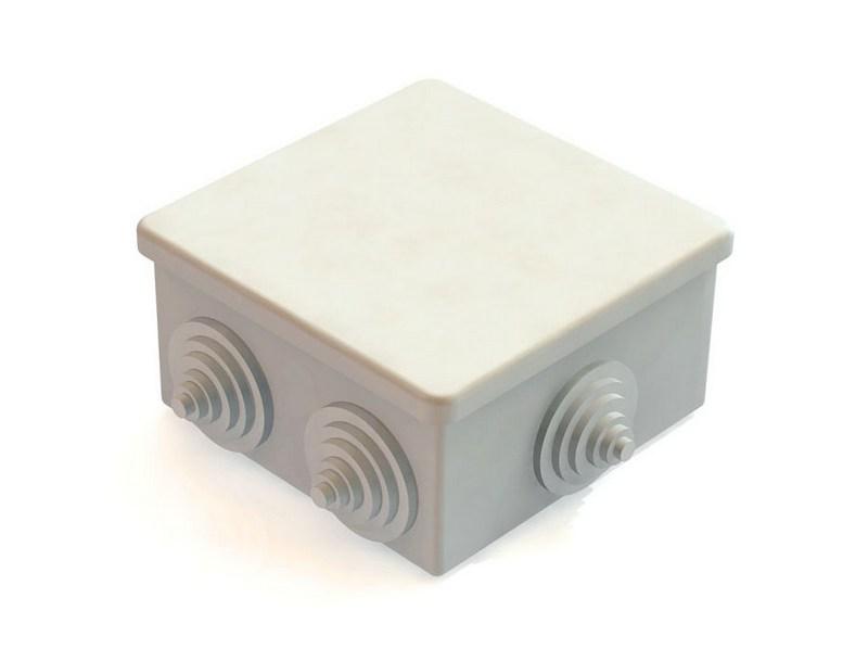 Коробка распаячная оу 85х85х40 IP44 6 вводов GE41235 Tyco