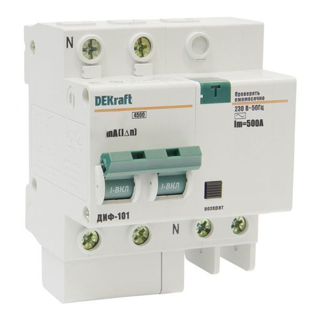 Дифавтомат ДИФ101 1п+N 16A/30мА AC C 4,5кА 15003DEK Schneider Electric