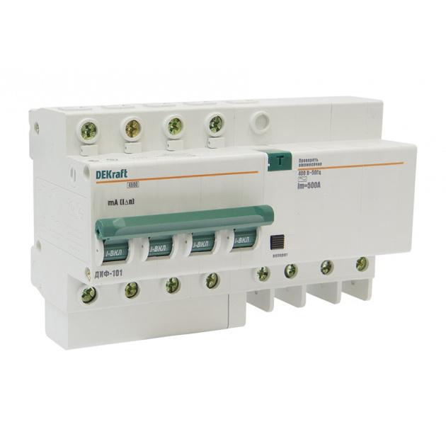 Дифавтомат ДИФ101 3п+N 10A/30мА AC C 4,5кА 15019DEK Schneider Electric