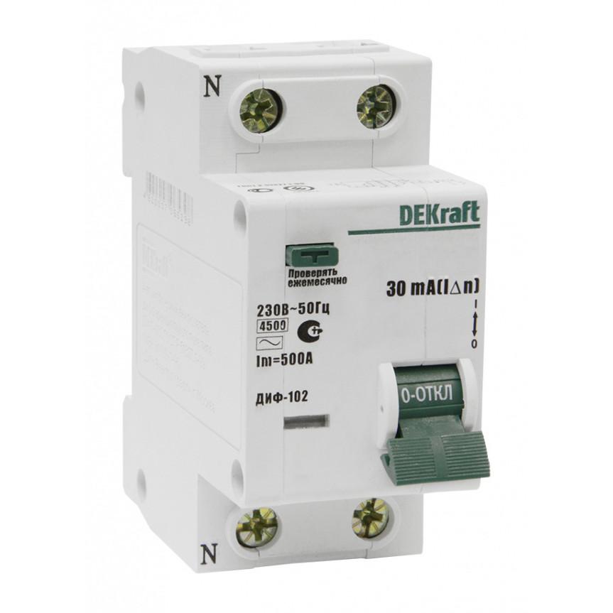 Дифавтомат ДИФ102 1п+N 25A/30мА AC C 4,5кА 16005DEK Schneider Electric