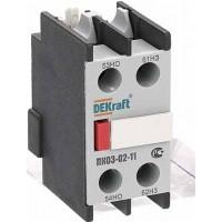 ПК03-02-11 Приставка контактная 1но+1нз фронтальной установки для КМ-103 24100DEK Schneider Electric