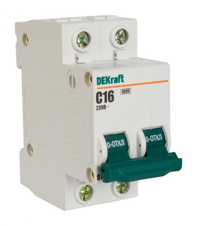 Автоматический выключатель ВА 101 2п 10А С 4,5кА 11065DEK Schneider Electric