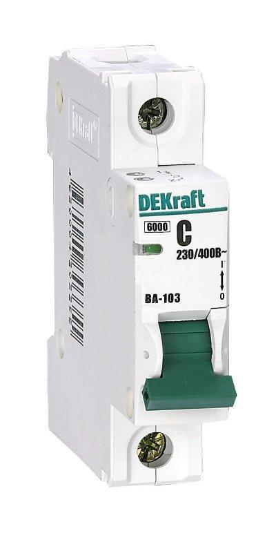 Автоматический выключатель ВА-103 1п 16А 6кА хар-ка С 12058DEK Schneider Electric