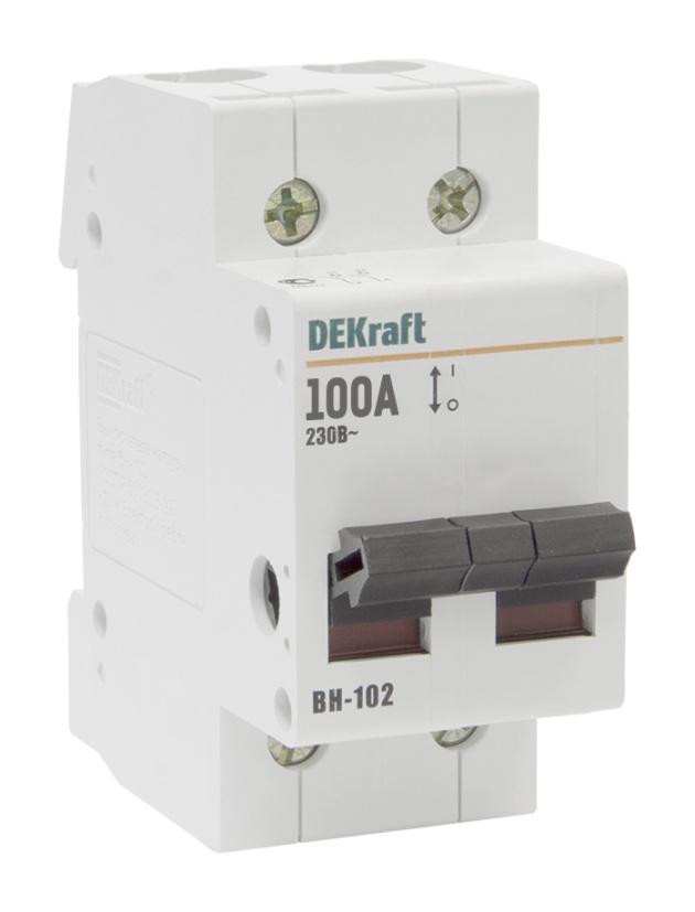 Выключатель нагрузки ВН102 2P 63A 17007DEK Schneider Electric