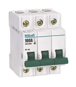 Выключатель нагрузки ВН103 3P 125A 17064DEK Schneider Electric