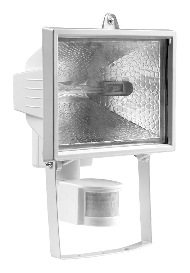 Прожектор ИО 500Вт с датчиком движения белый IP54 LP2-0500-S01 Texenergo
