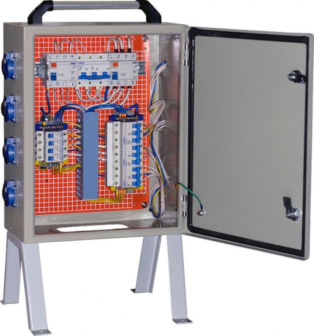 Щит механизации ЩМ-100-4х1П-2х3П IP54 SM-100-3 Texenergo