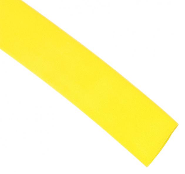 Термоусаживаемая трубка ТУТ 50/25 желтая (по 1м) TT50-1-K05 Texenergo