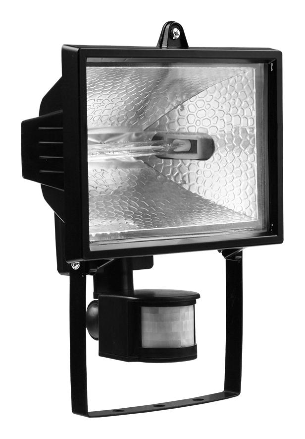 Прожектор ИО-500Вт (Детектор) черный IP54 Texenergo LP2-0500-S02 Texenergo