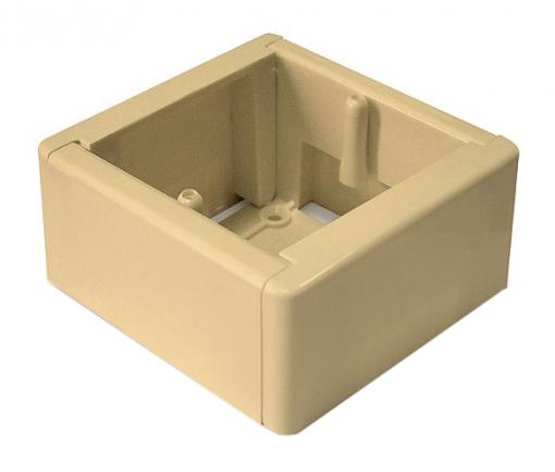 Коробка о/у для к/к установочная универсальная о/у 85х85х44 бел. GE40231-01 Tyco