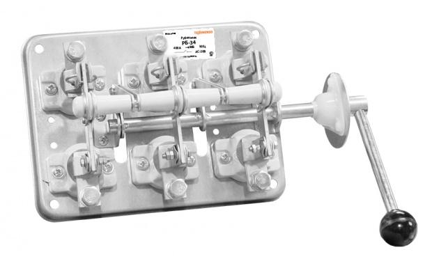Рубильник РБ34 400А RRB-34-400 Texenergo
