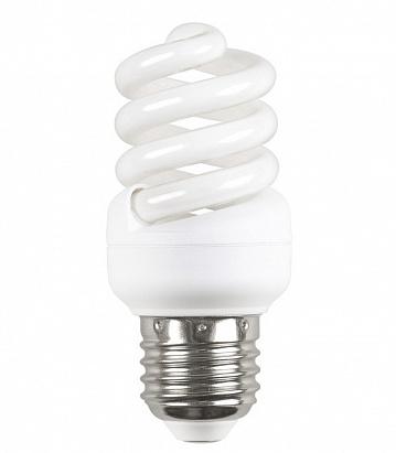 Лампа энергосберегающая спираль КЭЛ-FS Е14 15Вт 4000К Т2 ИЭК LLE25-14-015-4000-T2 IEK