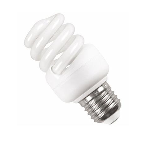Лампа энергосберегающая спираль КЭЛ-FS Е27 23Вт 4000К Т2 ИЭК LLE25-27-023-4000-T2 IEK