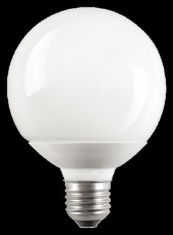 Лампа энергосберегающая шар КЭЛ-G Е14 9Вт 2700К ИЭК LLE70-14-009-2700 IEK