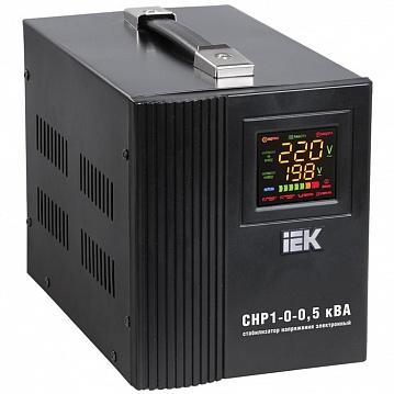 Стабилизатор напряжения СНР1-0- 3 кВА электронный переносной ИЭК IVS20-1-03000 IEK
