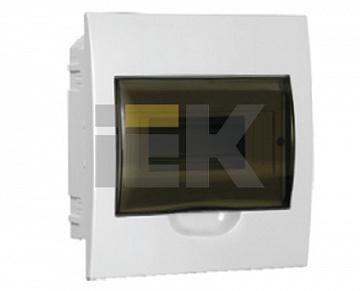 Бокс ЩРВ-П-8модулей встраиваемый пластик IP40 ИЭК MKP12-V-08-40-20 IEK