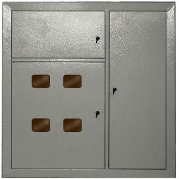 Корпус металлический ЩЭ-4-1 36 УХЛ3 IP31 MKM42-04-31 IEK