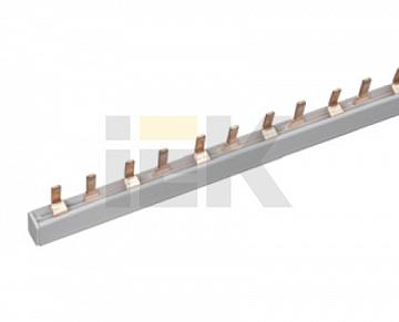 Шина соединительная типа PIN (штырь) 1Р 63А (дл.1м) ИЭК YNS21-1-063 IEK