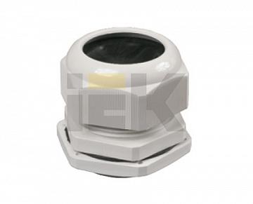 Сальник PG 21 диаметр проводника 15-18мм IP54 ИЭК YSA20-18-21-54-K41 IEK
