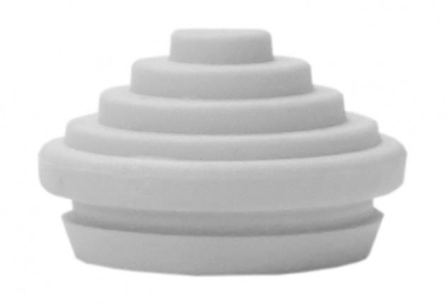 Сальник d=20мм (Dотв.бокса 22мм) белый YSA40-20-22-68-K01 IEK