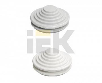 Сальник d=40мм (Dотв.бокса 49мм) белый YSA40-40-49-68-K01 IEK