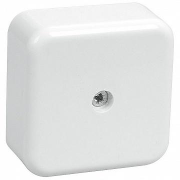 Коробка КМ41206-01 распаячная для о/п 50х50х20мм белая (с контактной группой) UKO10-050-050-020-K01 IEK