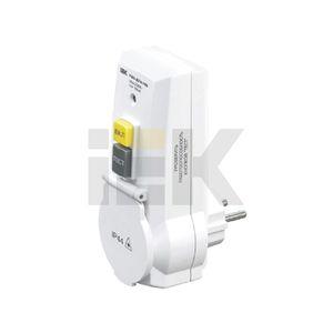 Адаптер с защитным отключением УЗО-ДПА16В 10мА WDV20-16-10-K01 IEK