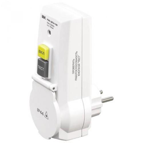 Адаптер с защитным отключением УЗО-ДПА16В 30мА WDV20-16-30-K01 IEK
