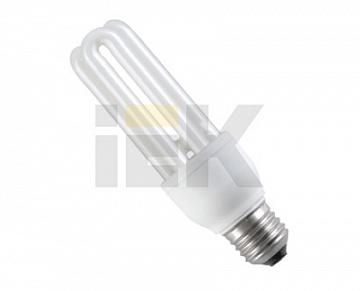Лампа энергосберегающая КЭЛ-3U Е27 15Вт 2700К Т3 ИЭК LLE10-27-015-2700-T3 IEK