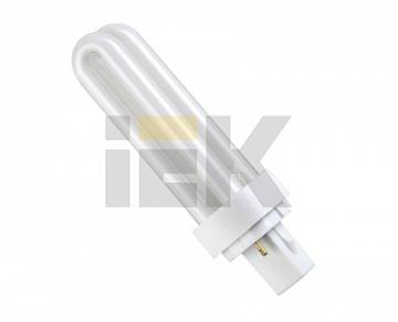 Лампа энергосберегающая КЛ-PLC(2U) G24D-1 13Вт 4200К Т4 ИЭК LLE40-24-013-4200 IEK