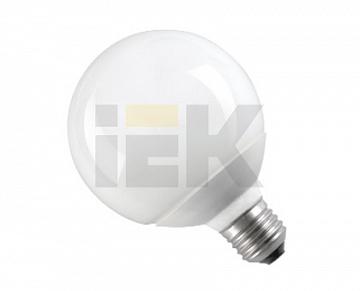 Лампа энергосберегающая шар КЭЛ-G Е27 20Вт 2700К ИЭК LLE70-27-020-2700 IEK