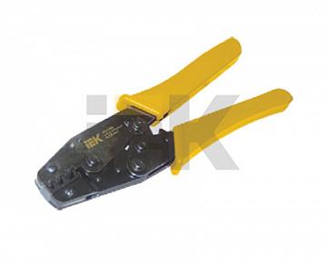 Клещи обжимные КО-06Е 6-16мм для Е-типа ИЭК TKL20-006-016 IEK