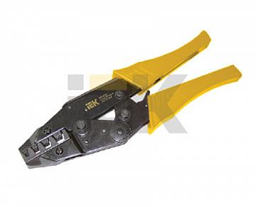 Клещи обжимные КО-07Е 10-35мм для Е-типа ИЭК TKL20-010-035 IEK