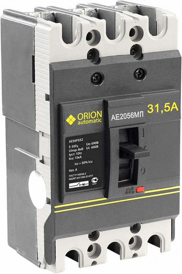 Автоматический выключатель АЕ 2056 МП 31.5А 660В 10кА AE56F032 Texenergo