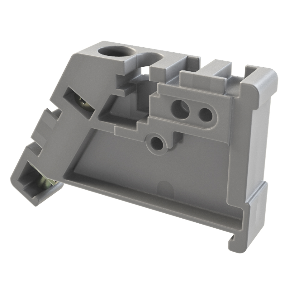 Ограничитель на DIN-рейку из пластика ENDP Texenergo