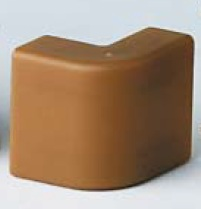 AEM 25x17 Угол внешний коричневый (розница 4 шт в пакете, 20 пакетов в коробке) In-Liner DKC 00404RB DKC