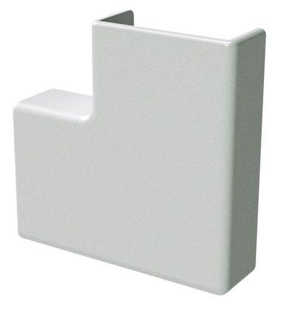 APM 22x10 Угол плоский белый (розница 4 шт в пакете, 20 пакетов в коробке) In-Liner DKC 00407R DKC
