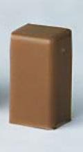LM 40x17 Заглушка коричневая (розница 4 шт в пакете, 20 пакетов в коробке) In-Liner DKC 00579RB DKC