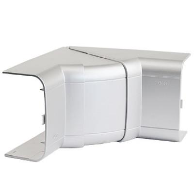 Угол внутренний 90х50 мм, изменяемый (70-120°), цвет серый металлик In-Liner Aero DKC 09551G DKC
