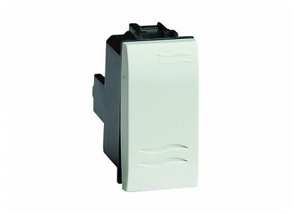 Выключатель, белый, 1мод. Brava DKC 76001B DKC