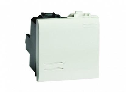 Выключатель, белый, 2мод. Brava DKC 76002B DKC