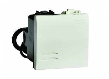 Выключатель с подсветкой, черный, 2мод. Brava DKC 77002NL DKC