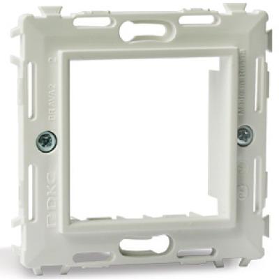 Каркас на 2 модуля (одноместный), белый, RAL 9010 Brava DKC 75020W DKC
