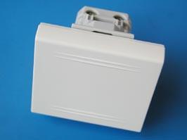 Выключатель однополюсный, «Viva», 1 мод., белый Viva DKC 45011 DKC